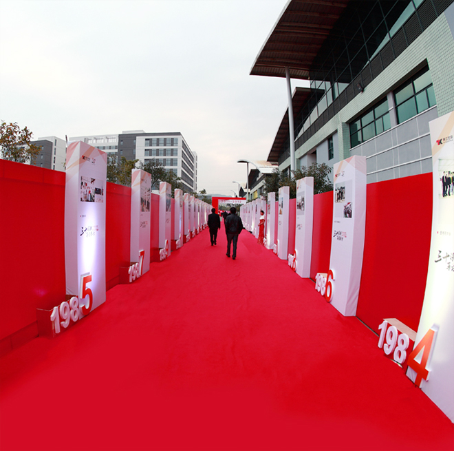 A10, red carpet, wall to wall carpet for wedding/banquet hall