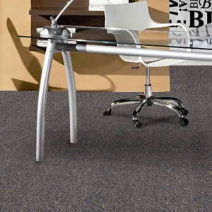 Dark color nylon durable carpet tile for office