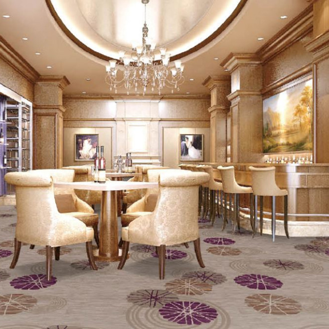ZSW2356, Commercial hotel carpet,dinning room carpet